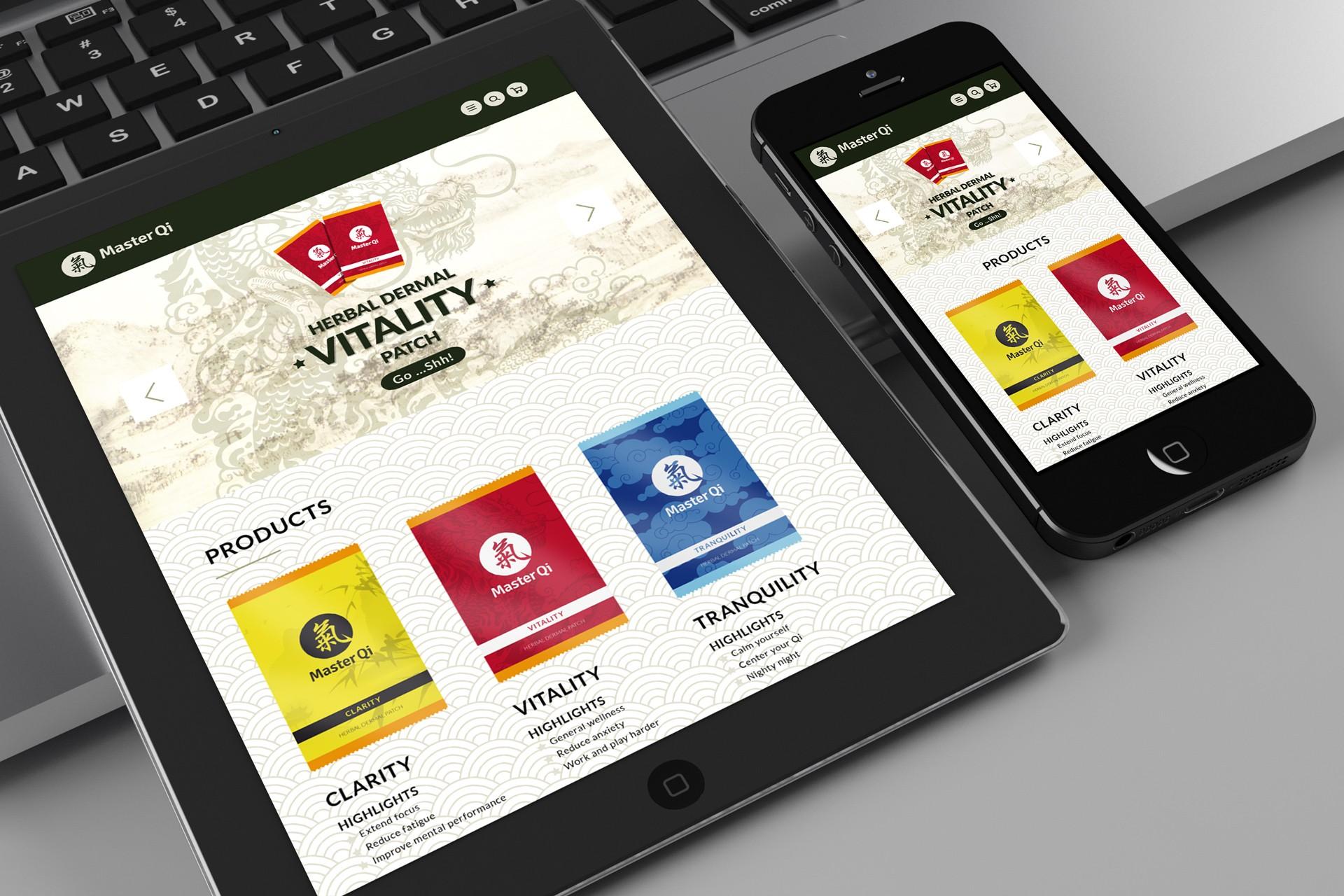 Master Qi : Webdesign responsive