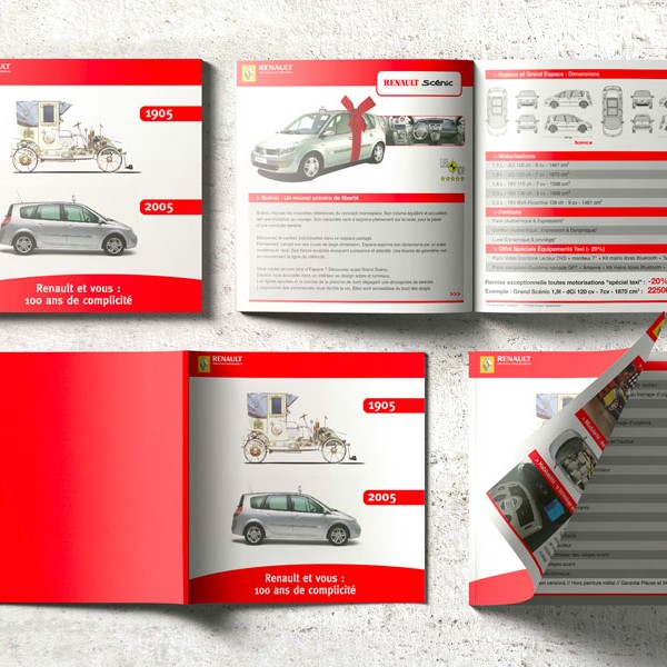 Brochure commerciale Gamme Renault Taxi