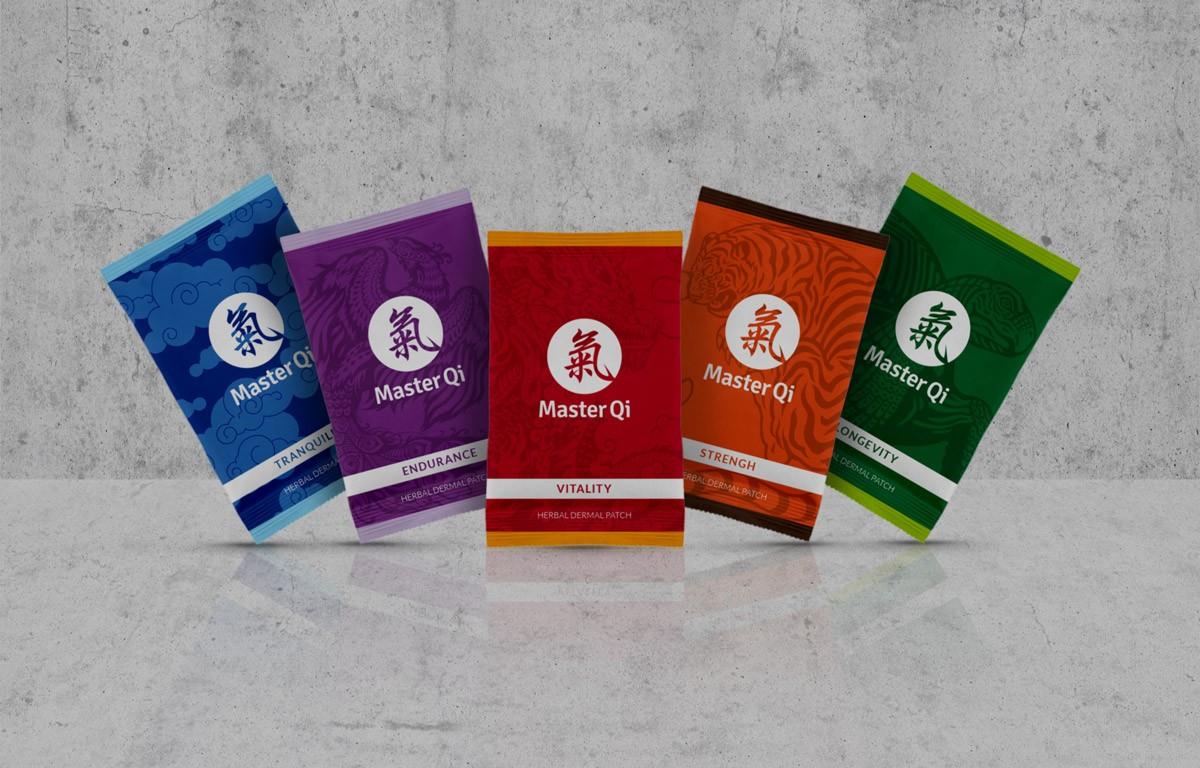 Master Qi gamme packaging