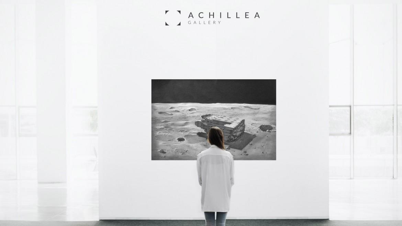 Création du logotype et du Site Woocommerce de la galerie d'art Achillea