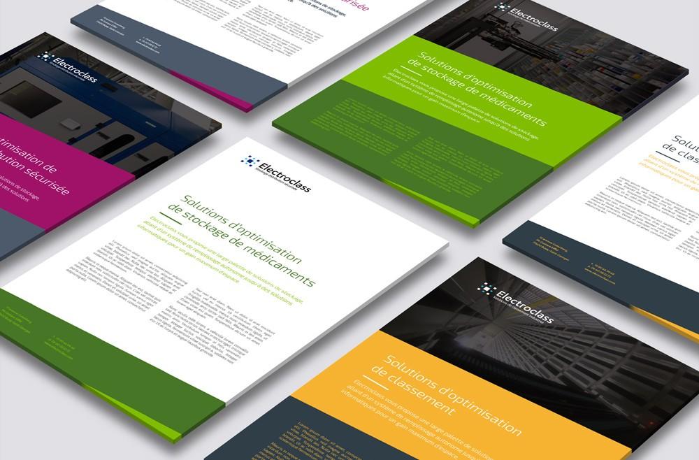 Electroclass Design Plaquettes commerciales