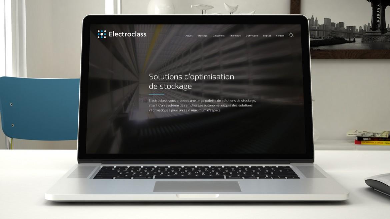 Webdesign du nouveau site Electroclass