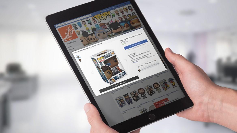 Intégration de votre Ecommerce sur Facebook. Synchronisation automatique avec votre site